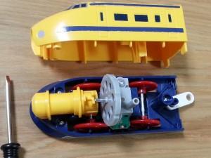 ハッピーセットプラレール電池交換03