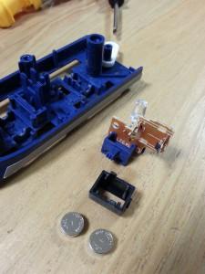 ハッピーセットプラレール電池交換10