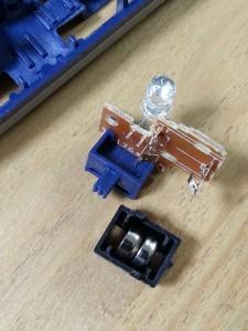 ハッピーセットプラレール電池交換11