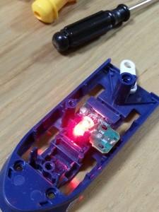 ハッピーセットプラレール電池交換13
