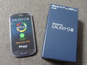 GALAXY S3(SC-06D)